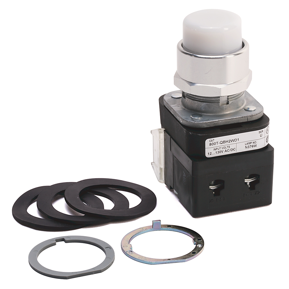 Allen-Bradley 800T-QBH2W 30 mm Momentary Push Button