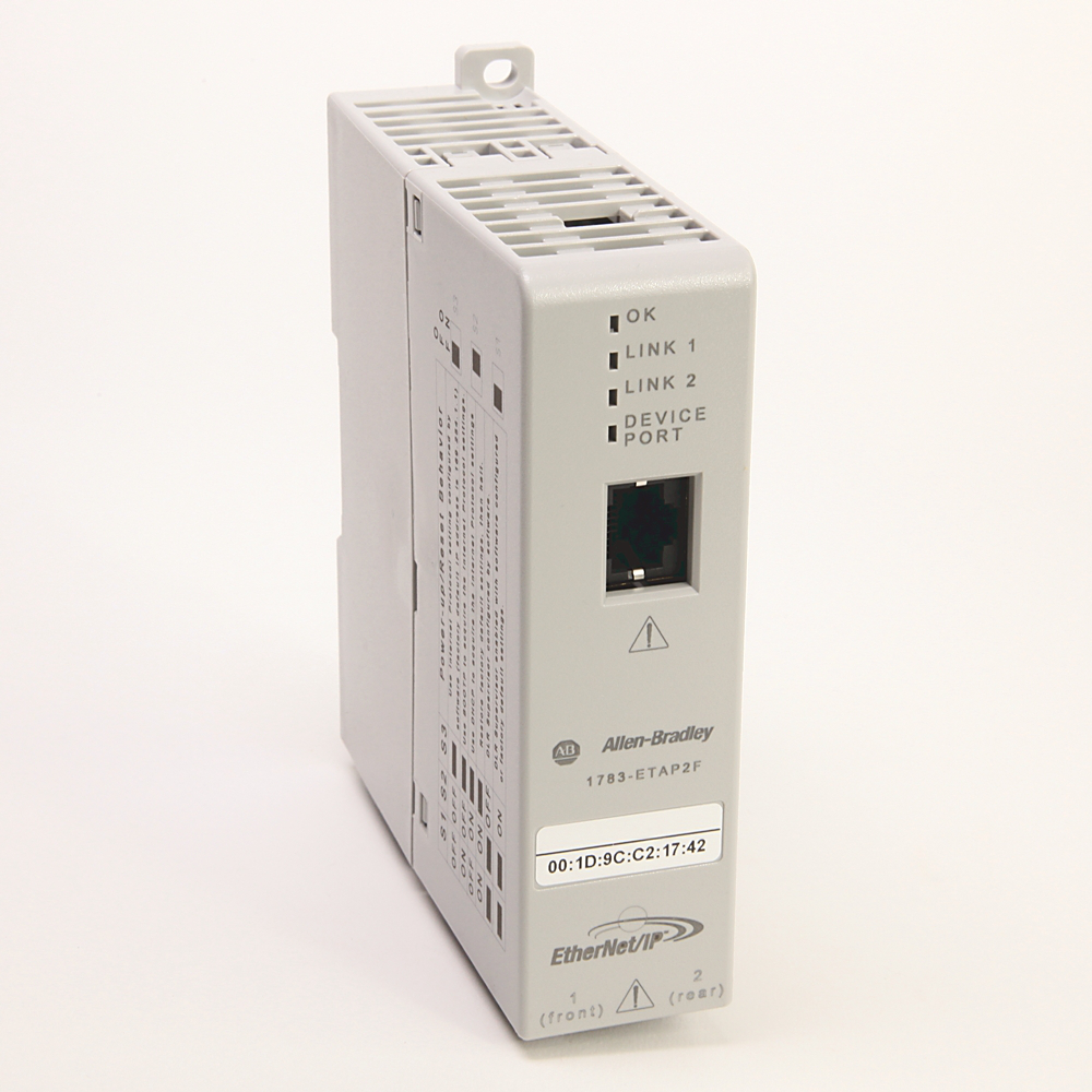 Networks and Communication Products, EtherNet/IP Tap1 copper port, 2 fiber ports