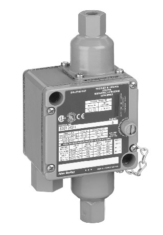 Allen-Bradley 836T-D451JX40 Electromechanical Pressure Control Switch