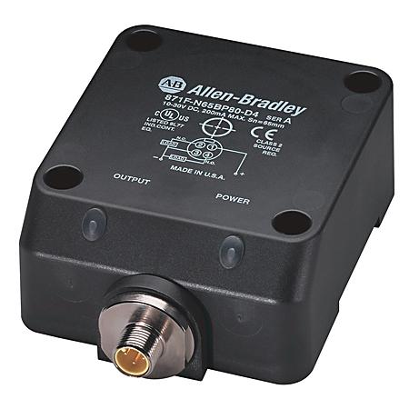Allen-Bradley 871F-P50BN80-T4 Flat Pack Style Inductive Sensor
