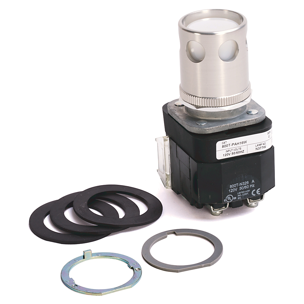 Allen-Bradley 800T-PAH16W 30 mm Momentary Push Button