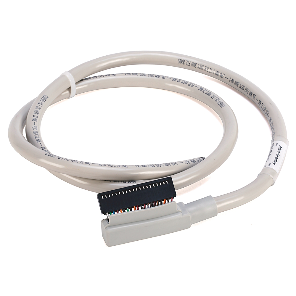 Allen-Bradley 1492-CABLE010N3 1 m 300 Volt 22 AWG 40-Conductor Digital I/O Module Ready Cable