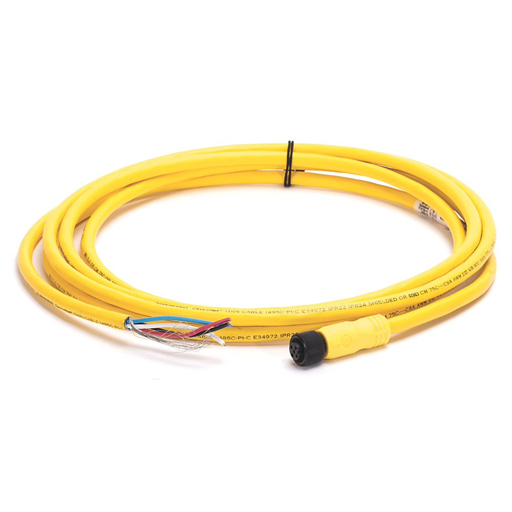 Allen-Bradley 1485R-P3R5-C 9.8 Foot Conductor to Straight Micro Female Pre-Terminated Thin Cable Cord Set