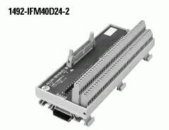 Allen-Bradley 1492-IFM40D24-2 12 Amp 10 to 30 VAC/VDC LED Digital Interface Module