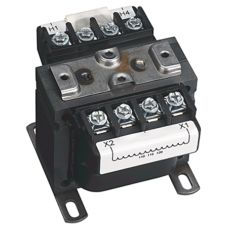Allen Bradley 1497A-A4-M18-0-N 150 VA 208/230/480 to 120/24 Volt 50/60 Hz Control Circuit Transformer