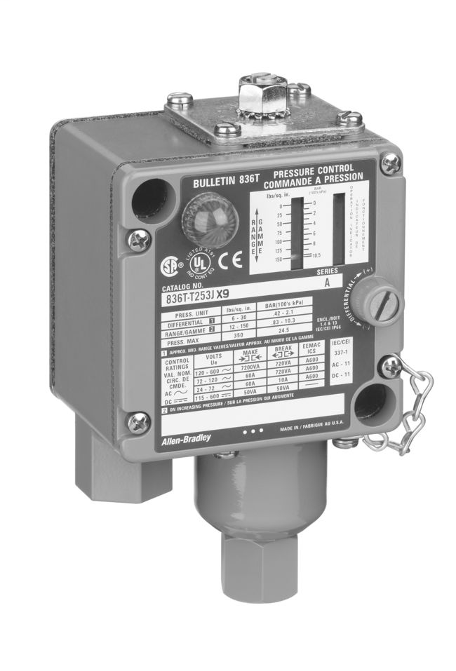 A-B 836T-T302E Electro-Mech Pres Cn