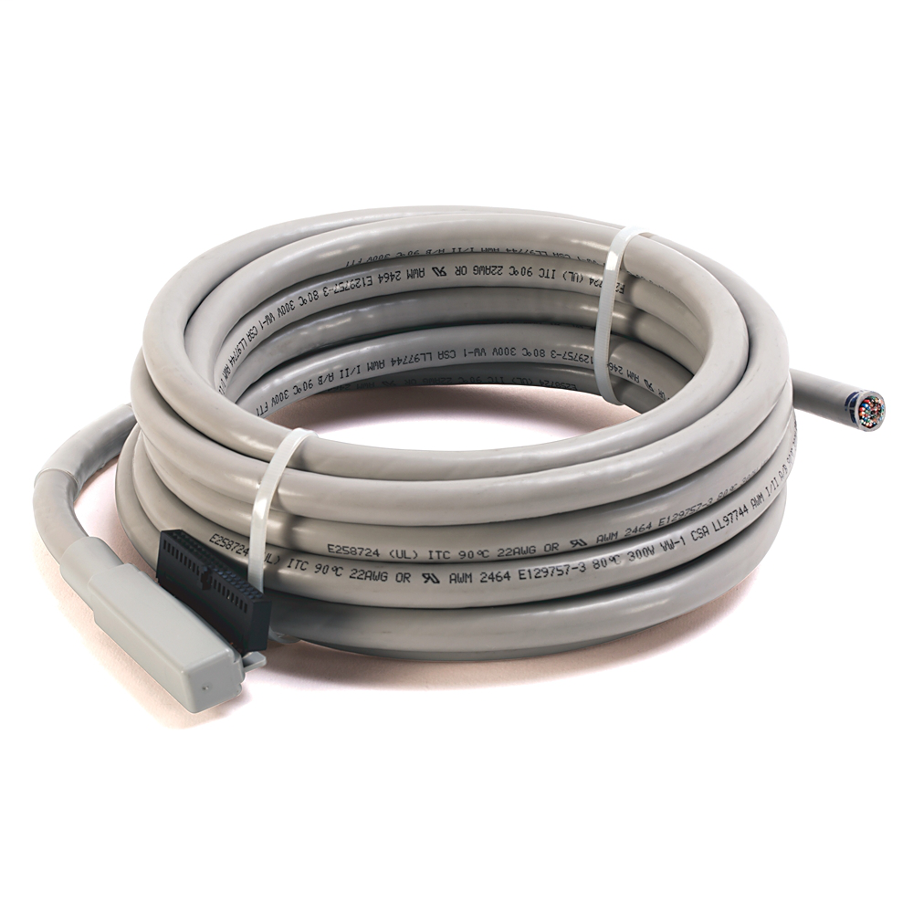 Allen-Bradley 1492-CABLE050N3 5 m 300 Volt 22 AWG 40-Conductor Digital I/O Module Ready Cable
