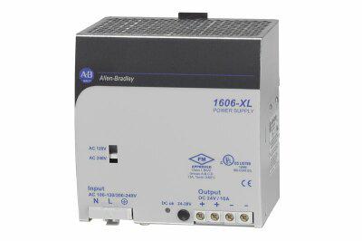 1606-XL240DR: Redundant Power Supply, 24V DC, 240 W, 120/240V AC / 210-375V DC Input Voltage