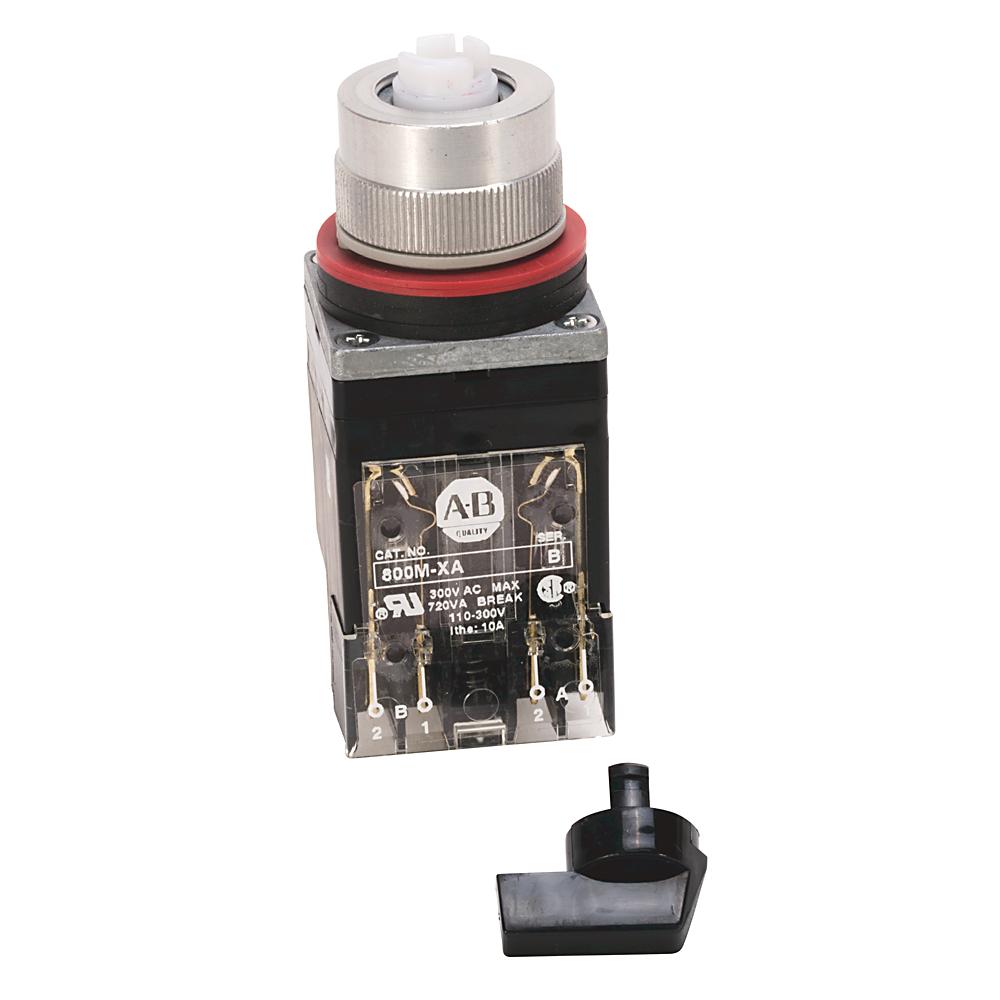 Allen-Bradley 800MR-JH2BB Round 225 mm NEMA Push Button