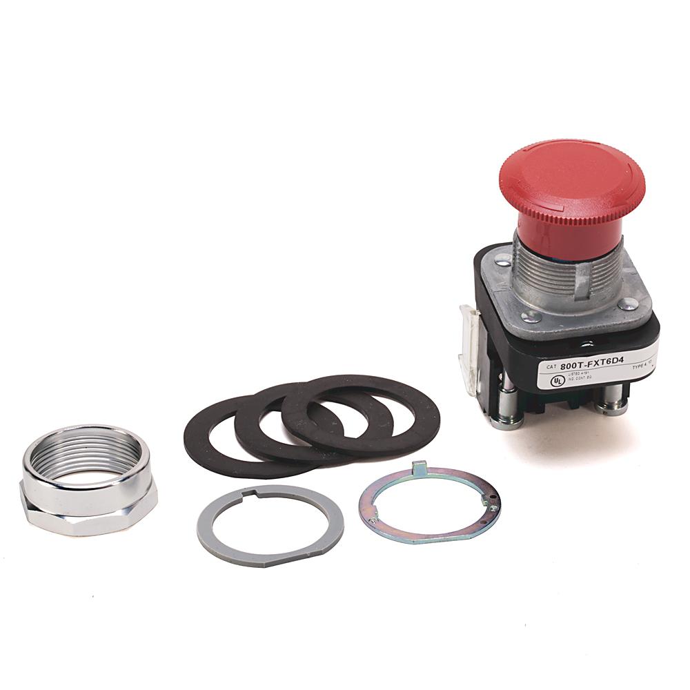 Allen Bradley 800TC-FXT6A 30 mm Push Button Push-Pull Device