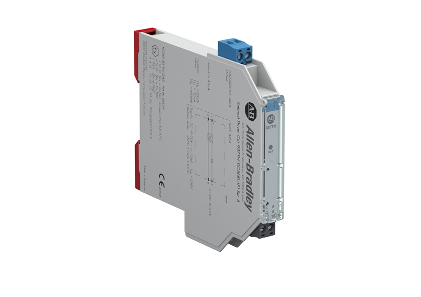 937 Isolated Barrier, 12.5mm Module (High Density), Digital Out I/O Type, Solenoid Driver, Input Loop Powered, Single Channel