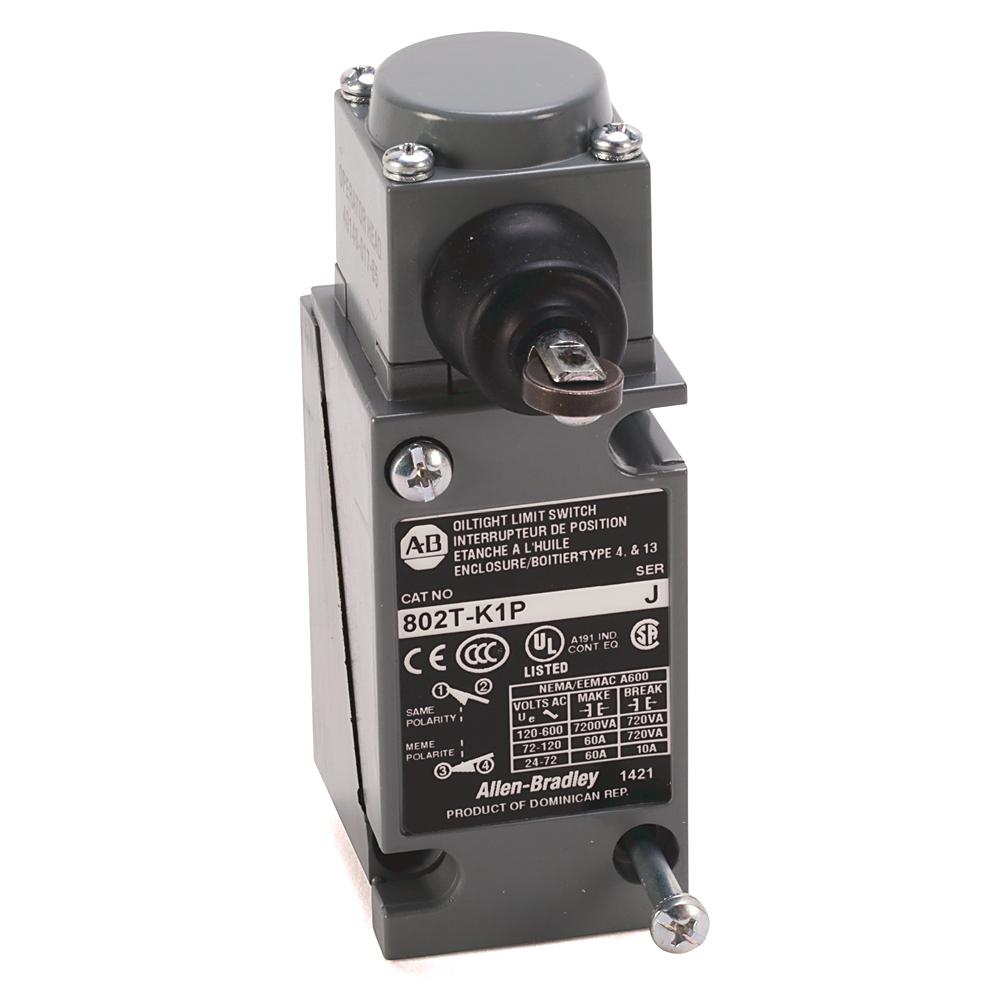 Allen-Bradley 802T-K1TP1 Plug-In Oiltight Limit Switch