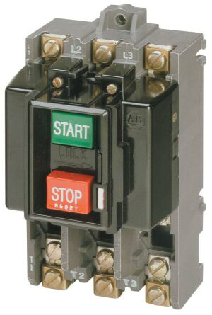 Allen-Bradley 609-AAW 3 Phase Manual Starting Switch Push Button