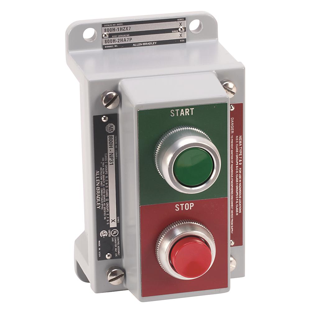 Allen-Bradley 800H-2HX7P Push Button Station