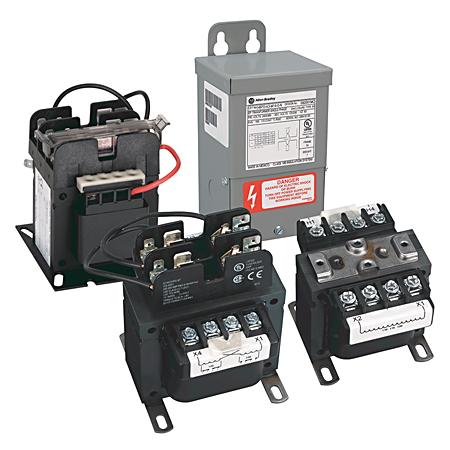 Allen-Bradley 1497-N2PK 80 VA 240-480 Volt 60 Hz Control Transformer