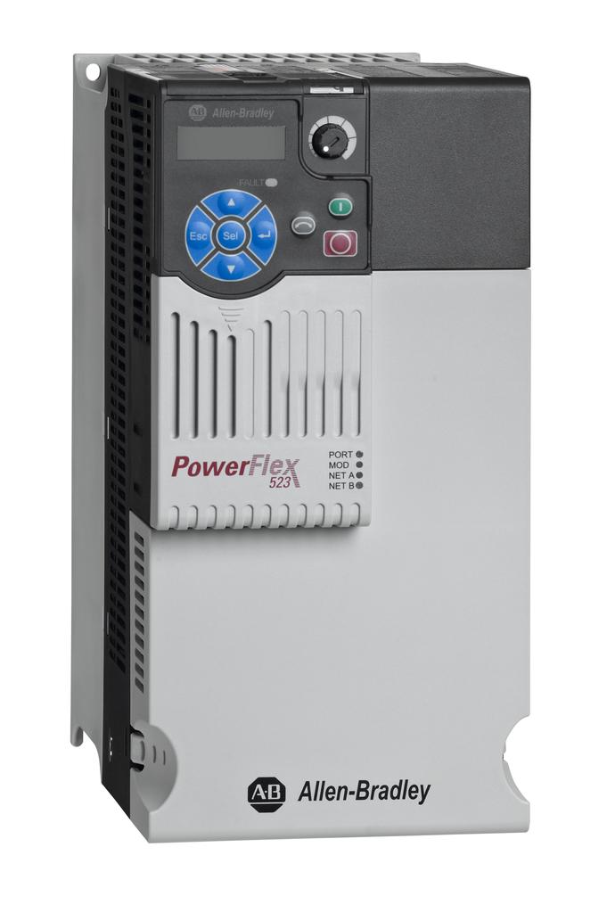 Allen Bradley 25A-B032N104 PowerFlex 523 3-Phase 240 Volt 10 Hp IP20 AC Drive