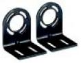 Steel L-shaped end cap mounting bracket (4 per package)