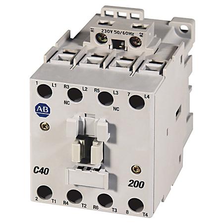 Allen-Bradley 100-C43D10 43 Amp IEC Contactor