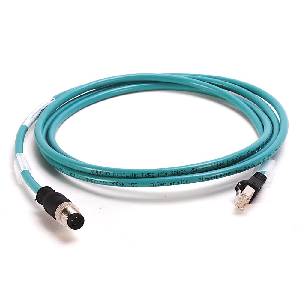 Allen Bradley 1585D-M4UBJM-2 Ethernet Media Patch Cord