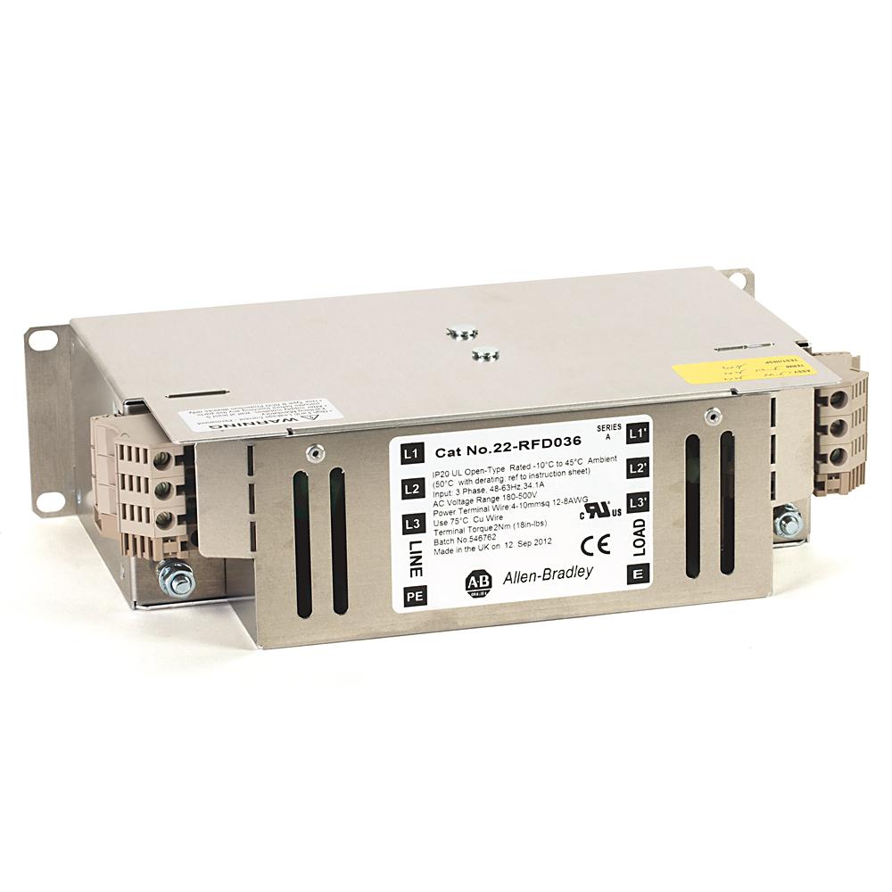 A-B 22-RFD036 PowerFlex EMC Filter