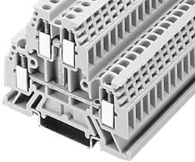 Allen-Bradley 1492-WD4C IEC Terminal Block 8 x 476 x 41 mm Screw