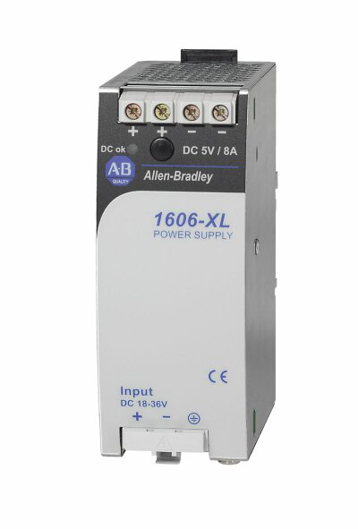 1606-XLDC40A: DC/DC-Converter module, 5.1V DC, 40 W, 18-36V DC Input Voltage