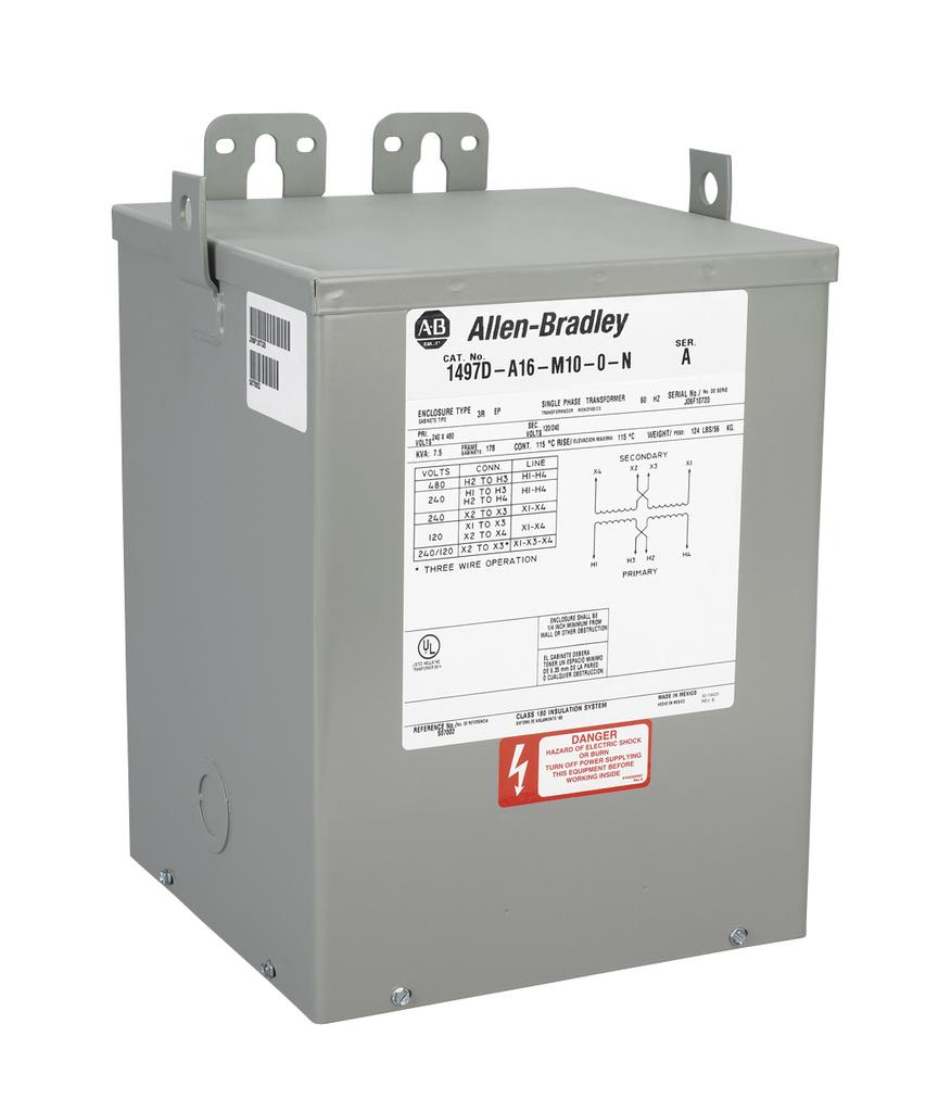 Allen-Bradley 1497D-A15-M10-0-N General Purpose Transformer