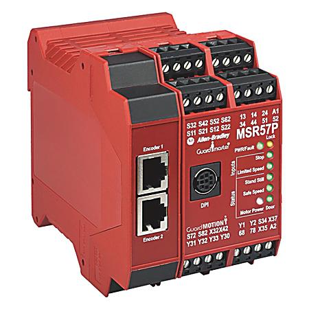 Allen-Bradley 440R-S845AER-NNL MSR57P Speed Monitoring Safety Relay