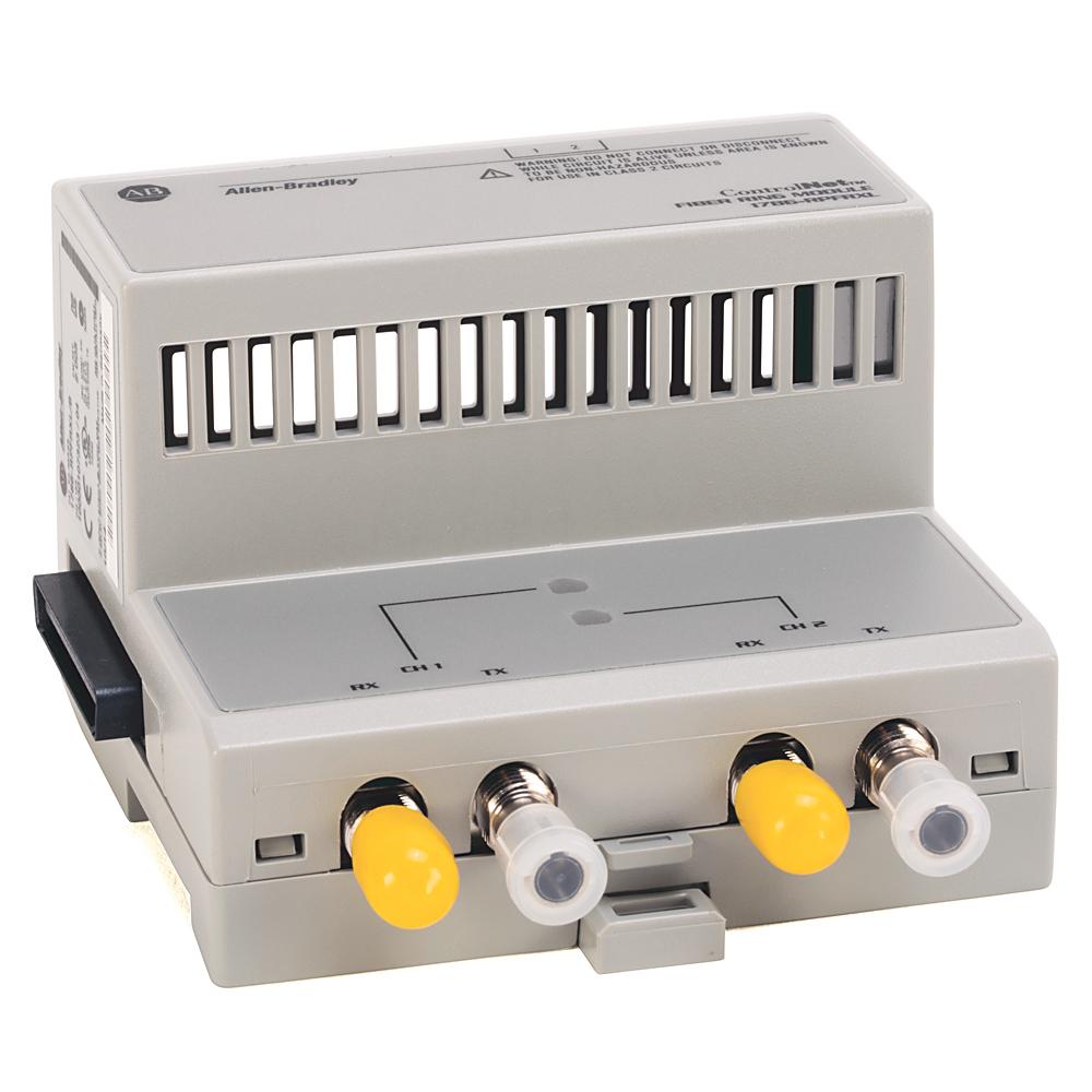 Allen Bradley 1786-RPFRXL ControlNet Extra Long Fiber Ring Repeater Module