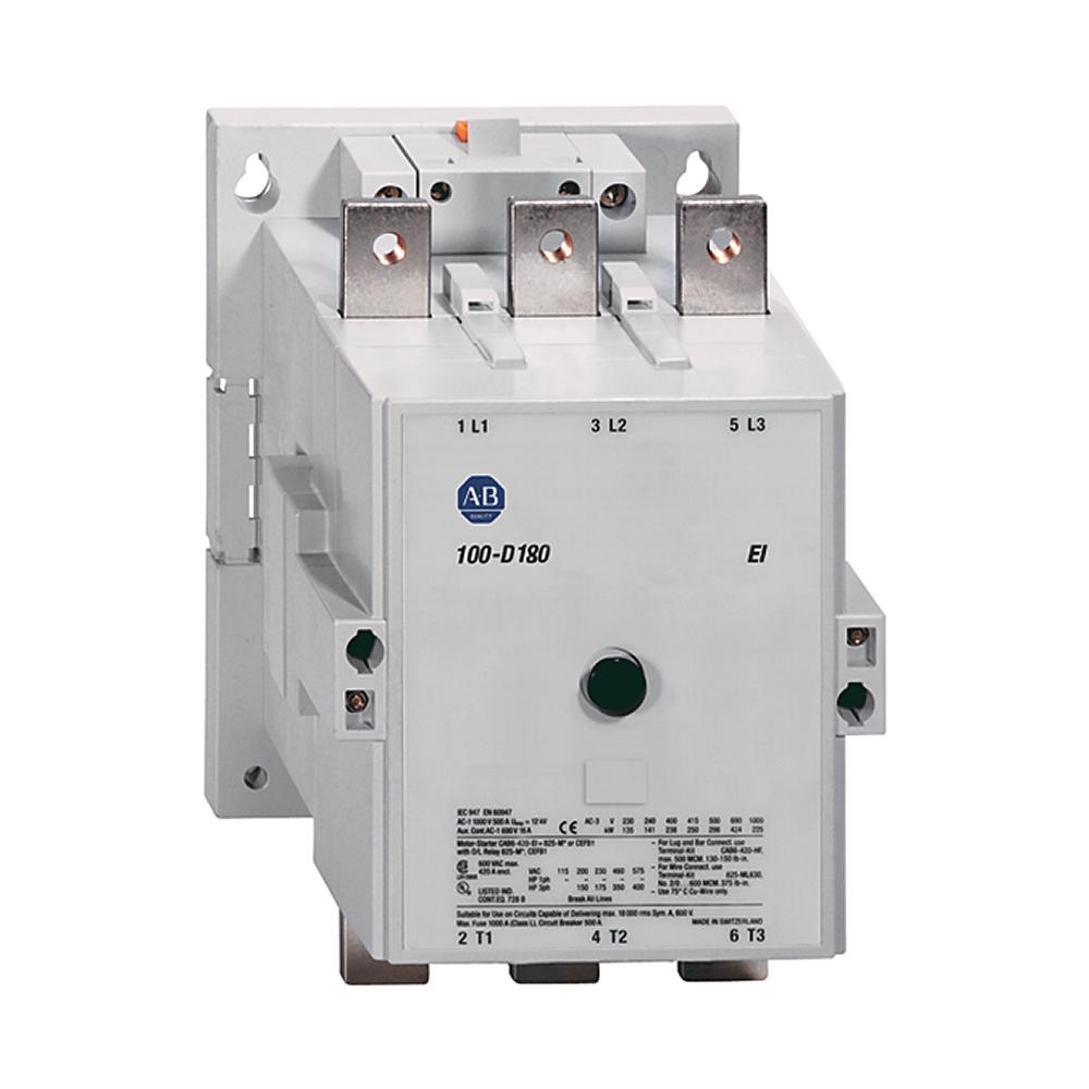 Allen Bradley 100-D115EZJ00 115 Amp MCS D IEC Contactor