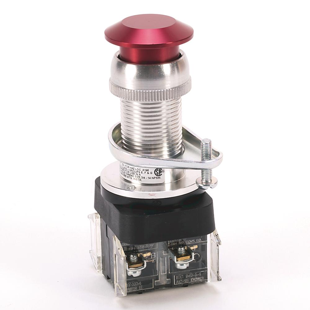 Allen-Bradley 800H-FPX6D4 Type 7&9 Push-Pull Unit Push Button