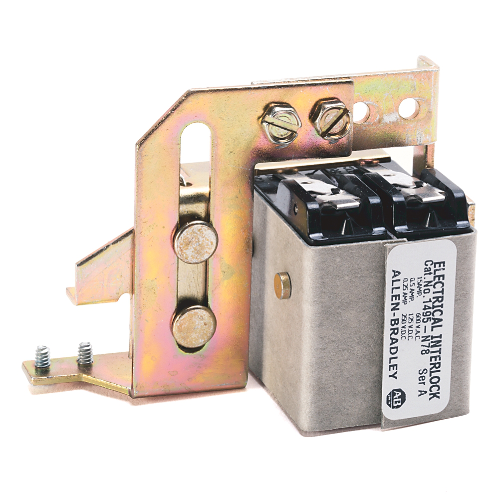 Allen Bradley 1495-N78 15 Amp Electrical Interlock Kit