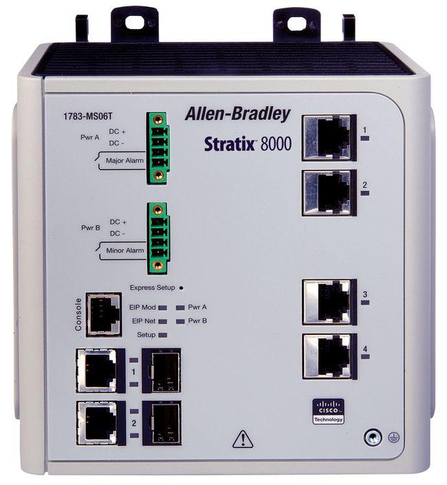 A-B 1783-MS10T Stratix 8000 10 Port Managed Switch
