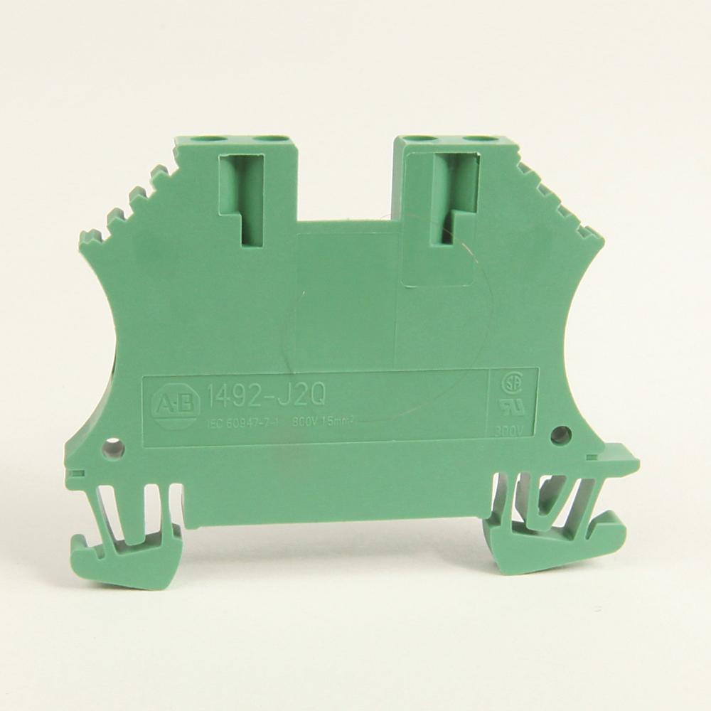 Allen-Bradley 1492-J2Q-G IEC 2 Connection Points 1.5 mm 1 Circuit Feed-Through Block