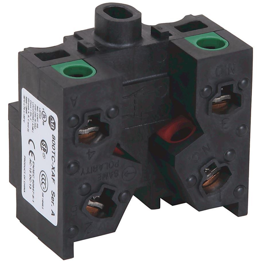 Allen-Bradley 800TC-XAF 30mm Contact Block 1-