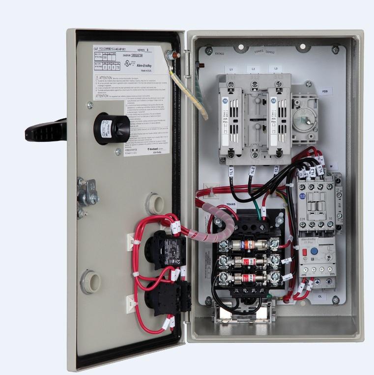 Allen-Bradley 112-C12ABD1D-1-6P-7 Fusible Disconnect Combination Starter - 112-C12Abd1D-1-6P-7