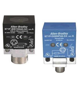Allen-Bradley 871P-BW15C40-N3 Rectangular Ind