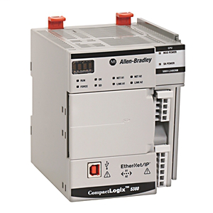 Allen Bradley 5069-L320ER 2 MB 1-Port USB 16-I/O 40-Node Controllogix PLC Controller
