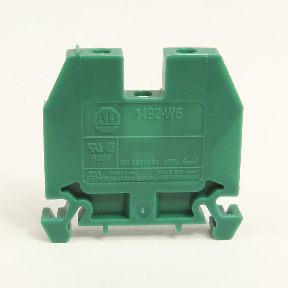 Allen-Bradley 1492-W6 6 mm Feed-Through Terminal Block