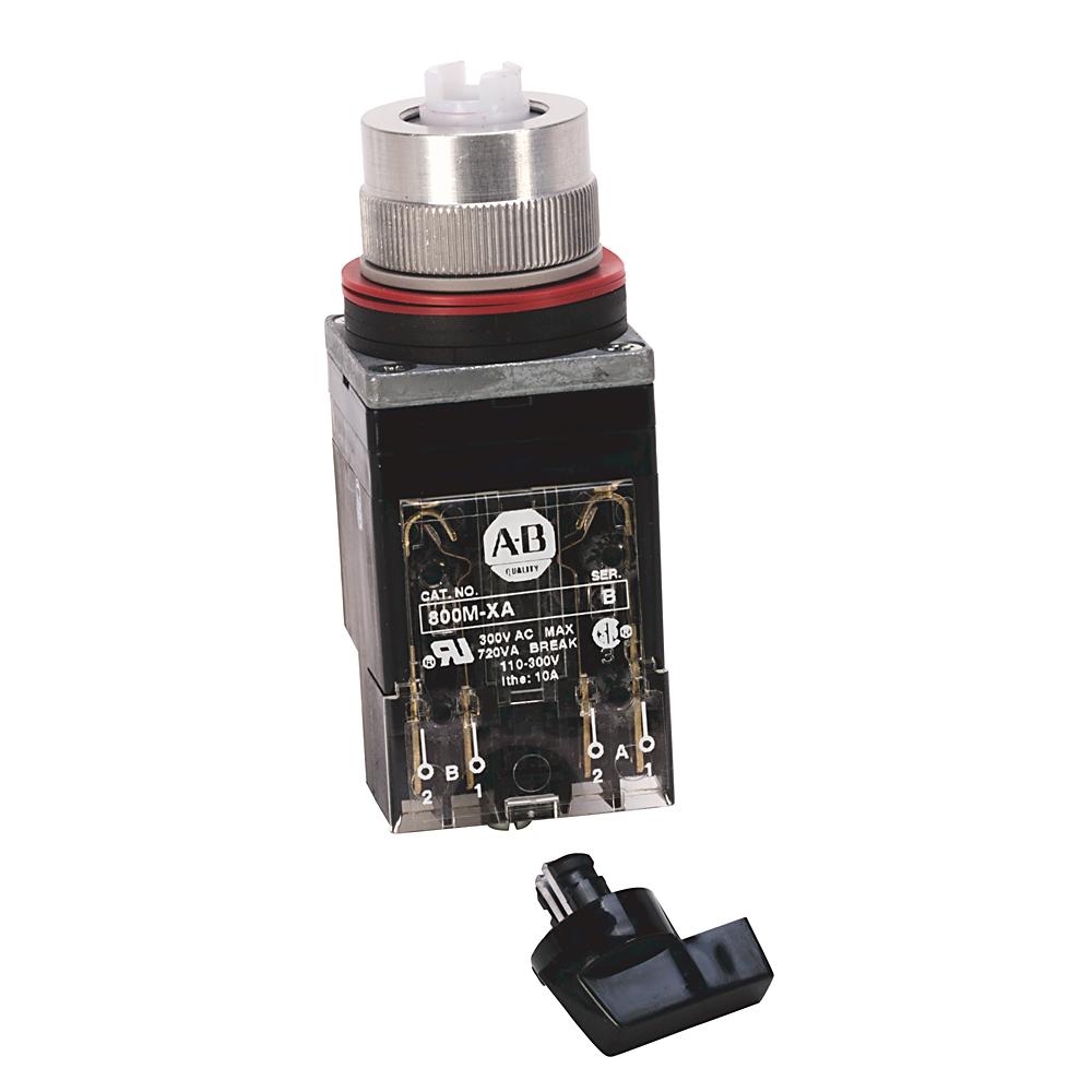 Allen-Bradley 800MR-HK2BLAK Round 225 mm NEMA Push Button
