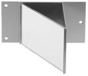 440L-AMIRR2, Glass corner mirror, 45° angle 0...30 m