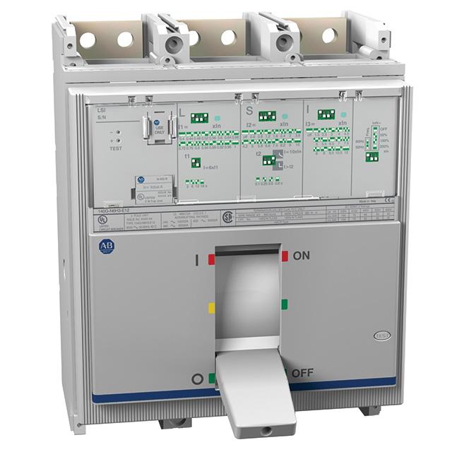 Allen Bradley 140G-N6H3-E12 1200 Amp N-Frame Molded Case Circuit Breaker