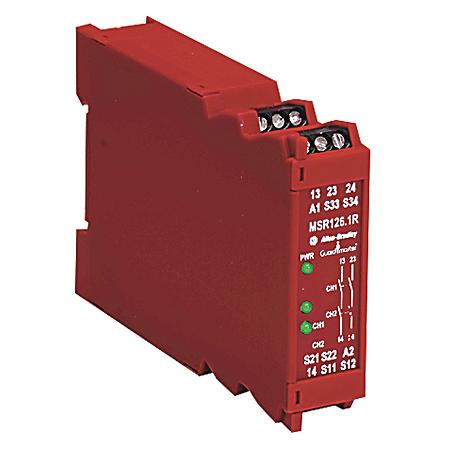 Allen-Bradley 440R-N23119 MSR1261R Safety Relay