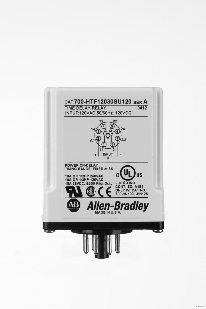 Allen-Bradley 700-HTF12050SA2 Tube Base Timin