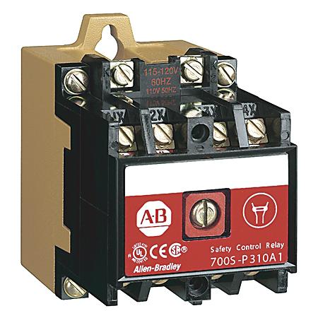 Allen-Bradley 700S-DCP440Z24 NEMA 600 Volt Safety Relay DC Coil