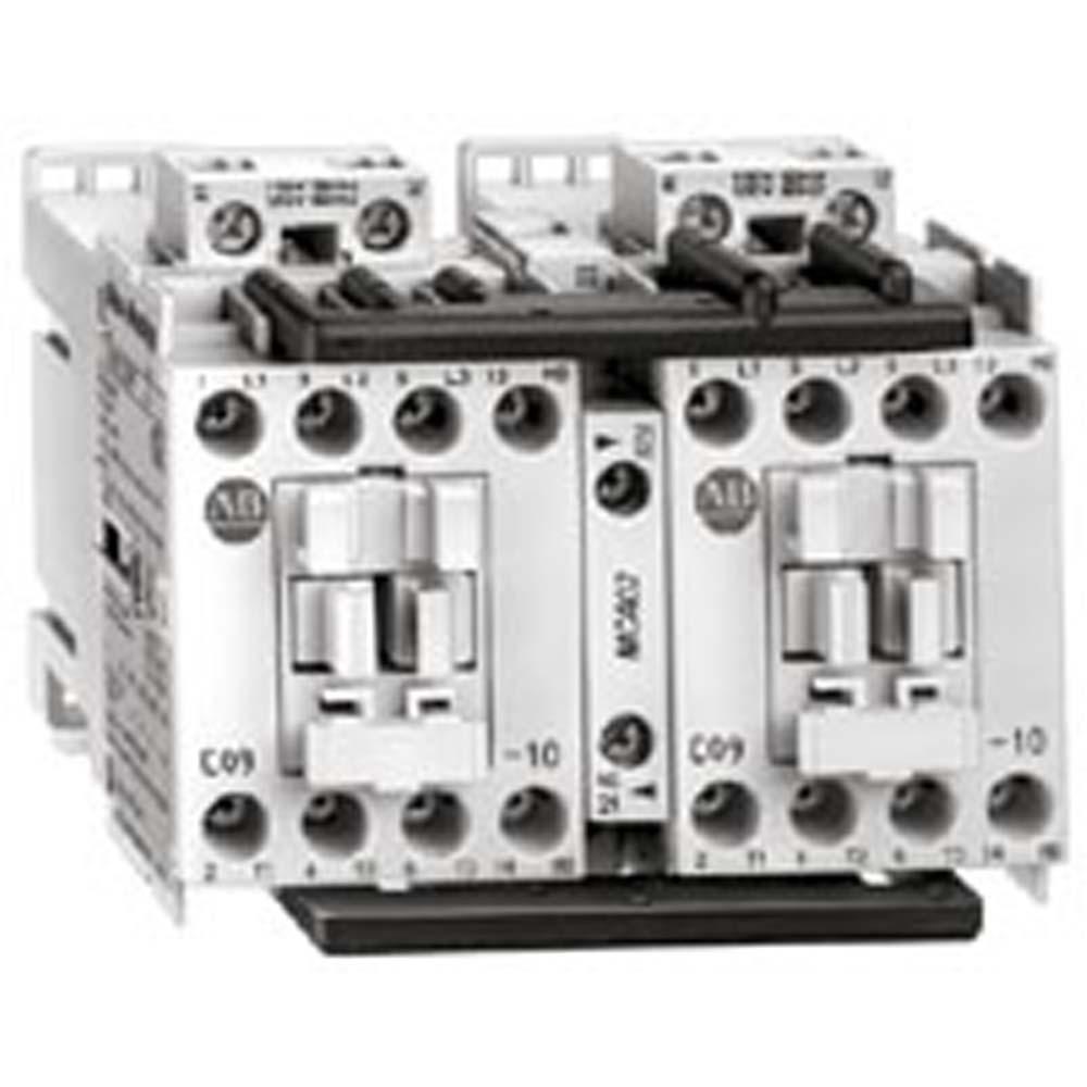 Allen-Bradley 104-C09J22 9 Amp IEC Reversing Contactor
