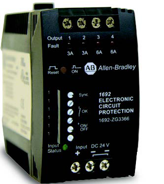 A-B 1692-ZRCLSS 24 V DC Electronic Circuit Protection
