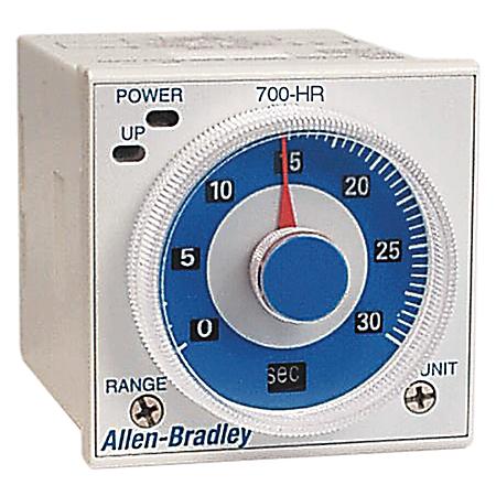 Allen-Bradley 700-HRT6TTU24 Tube Base Dial Timing Relay