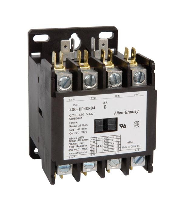 Allen-Bradley 400-DP30ND4 30 Amp Definite Purpose Contactor
