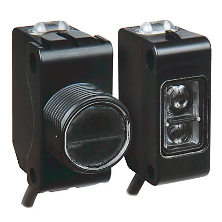 Allen Bradley 42JS-B2MPB2-F4 10 to 30 VDC 25 mA PNP Dark/Light Background Suppression Photoelectric Sensor